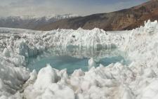 Ледяной щит жаркого края
