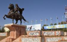 Открытие праздничных объектов в городе Бохтар