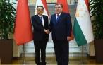 Встреча Президента Республики Таджикистан Эмомали Рахмона с Премьером Государственного совета Китайской Народной Республики Ли Кэцяном