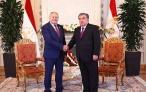 Встреча Президента Республики Таджикистан Эмомали Рахмона с Премьер-министром Республики Беларусь Сергеем Румасом