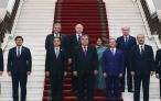 Встреча Президента Республики Таджикистан Эмомали Рахмона с главами делегаций – участниками заседания Совета глав правительств государств-членов Шанхайской организации сотрудничества
