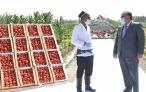 Посещение дехканского хозяйства «Холмамат»