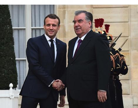 Встречи и переговоры высокого уровня Таджикистана и Франции