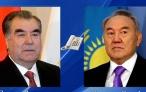 Лидер нации Эмомали Рахмон провел телефонный разговор с Первым Президентом Республики Казахстан