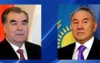 Поздравительная телеграмма Президента Республики Таджикистан Эмомали Рахмона Первому Президенту Республики Казахстан