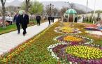 Президент страны Эмомали Рахмон принял участие в фестивале «Сайри гули лола»