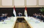 Лидер нации Эмомали Рахмон провел рабочее совещание