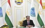 Президент Республики Таджикистан Эмомали Рахмон принял участие в работе заседания Совета глав государств-членов ШОС