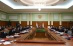 Заседание Правительства Республики Таджикистан