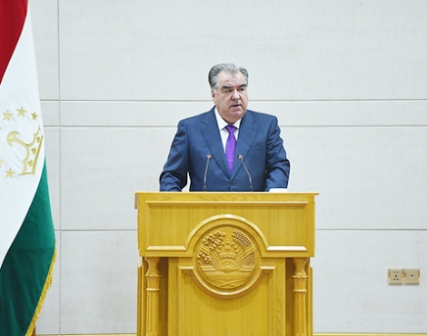 Расширенное заседание Правительства Республики Таджикистан