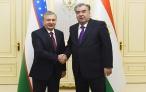 Президент Республики Таджикистан Эмомали Рахмон встретился с Президентом Республики Узбекистан Шавкатом Мирзиёевым