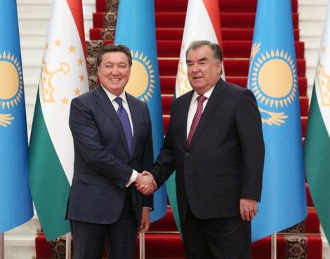 Президент Республики Таджикистан Эмомали Рахмон принял Премьер-министра Республики Казахстан