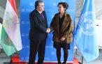 Встреча Лидера нации Эмомали Рахмона с Генеральным директором ЮНЕСКО
