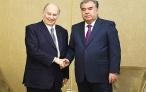 Лидер нации Эмомали Рахмон встретился с Принцем Каримом Ага-Ханом IV