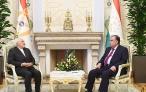 Президент Республики Таджикистан встретился с Министром иностранных дел Исламской Республики Иран