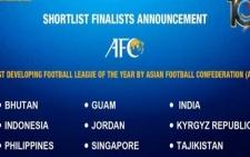 Футбольная лига Таджикистана номинирована на звание самой развивающейся лиги Азии